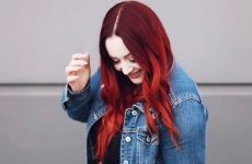 Best Red Ombre Hair Color Ideas for Long Hair