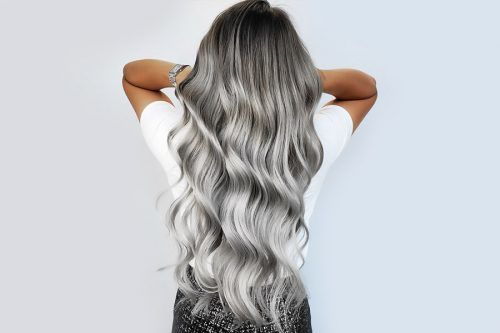 Stunning Silver Ombre Hair Ideas You'll Ever See