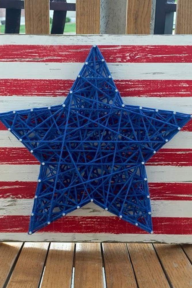 4th of July Shelf Decor picture 4