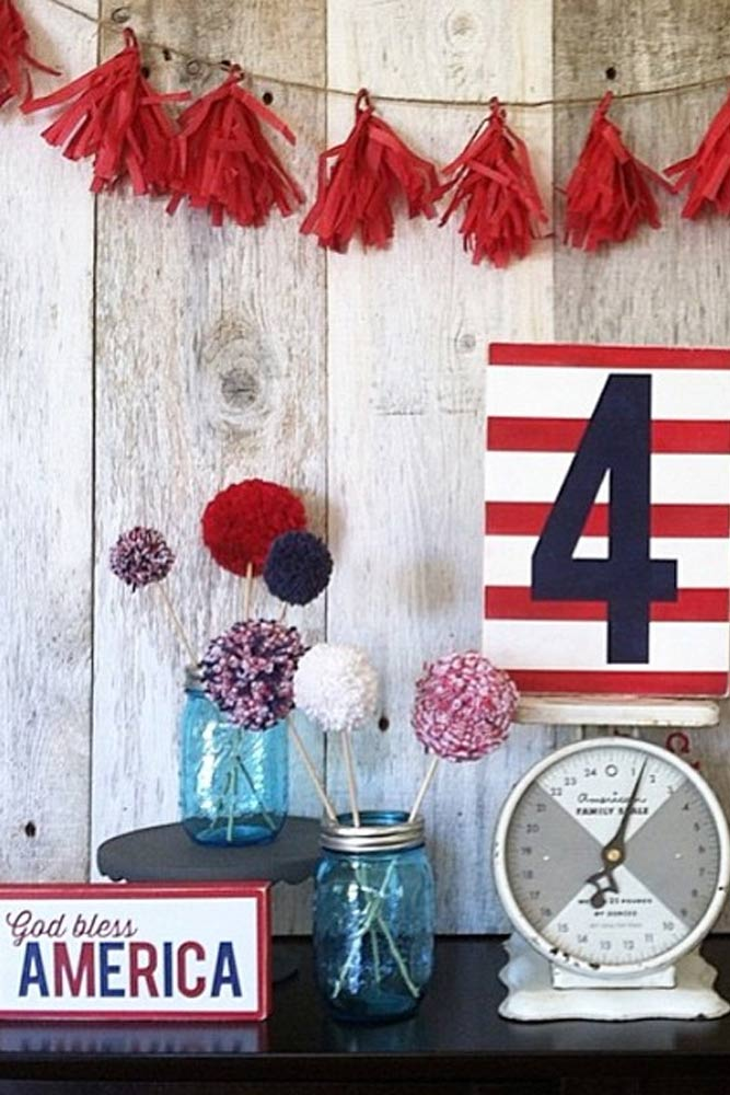 4th of July Shelf Decor picture 5