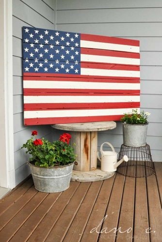 DIY Barn American Flag picture 3