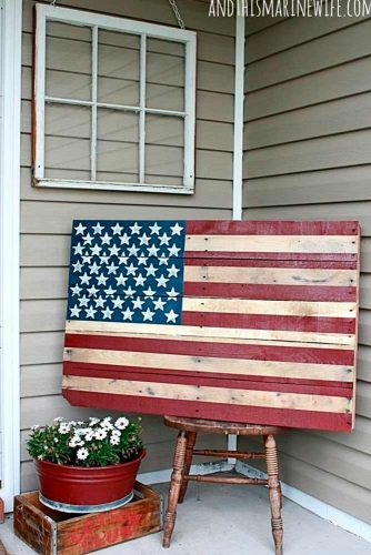 DIY Barn American Flag picture 2