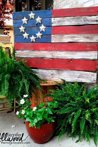 DIY Barn American Flag picture 1