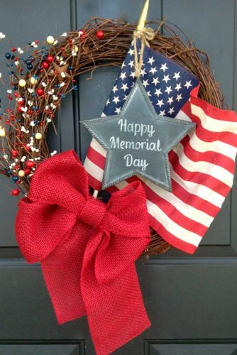 Patriotic Front Door Decoration picture 1