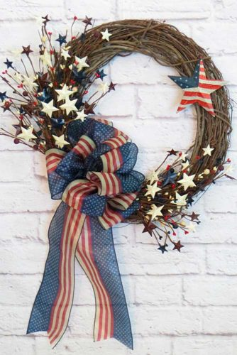 Patriotic Front Door Decoration picture 3