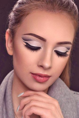 Homecoming Makeup with Nude Lipstick picture 4