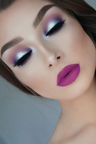 Homecoming Makeup with Bright Lipstick picture 3