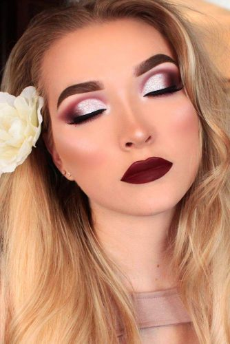 Homecoming Makeup with Bright Lipstick picture 4