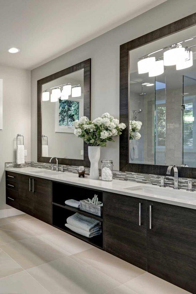 Big Modern Bathroom Vanity Design