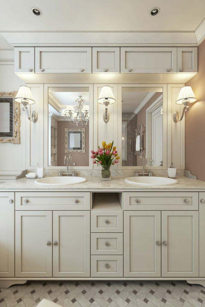 Vintage Bathroom Vanity Design