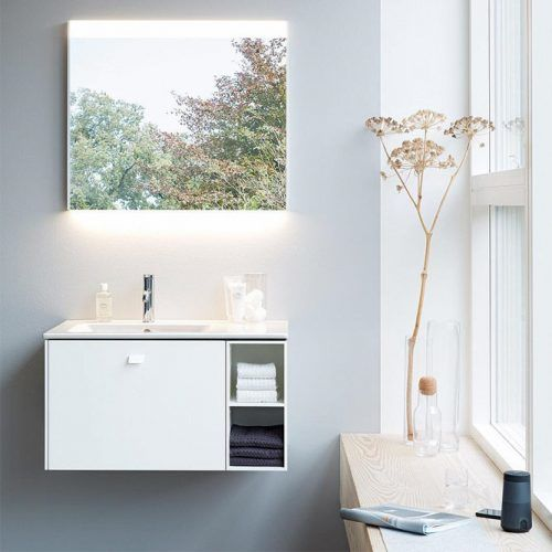 Small Vanity With Shelves #smallvanity #shelves