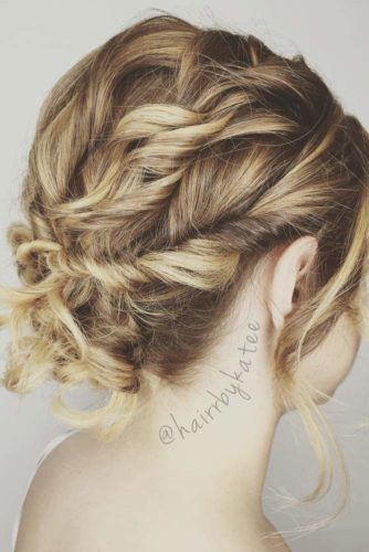 Cute Updos for Short Hair picture 2