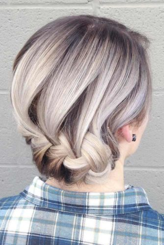 Cute Updos for Short Hair picture 5