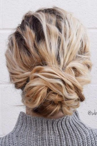 Stylish and Easy Updos for Short Hair picture 3