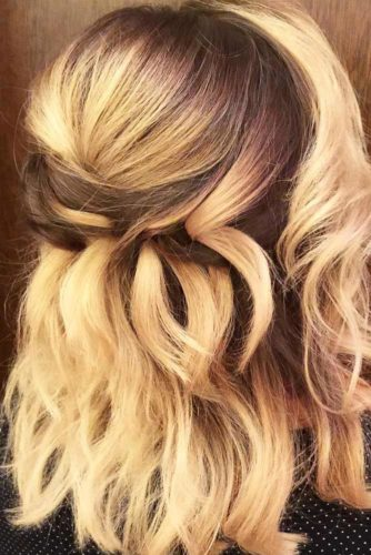 Stylish and Easy Updos for Short Hair picture 5