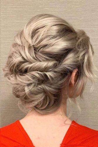 Twisted Updo For Short Hair #pinnedhair #prettyhair