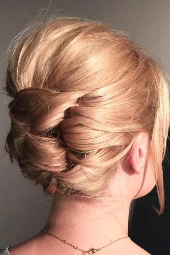 Stylish and Easy Updos for Short Hair picture 1