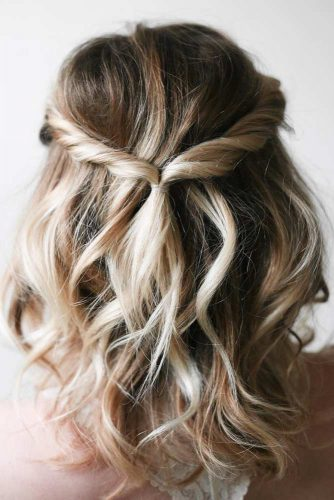 Stylish and Easy Updos for Short Hair picture 6