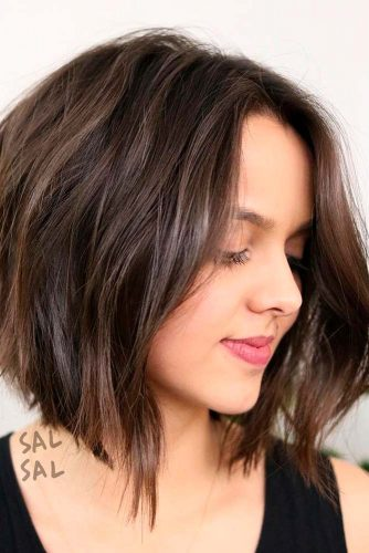 A-Line Cut for Wavy Hair