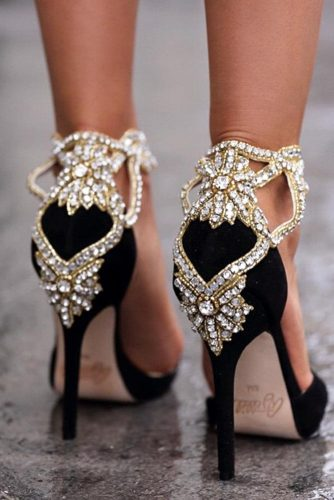 Glam Homecoming Shoes with Crystals picture 1