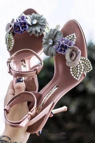 Flowers Sandals Design #flowersandals