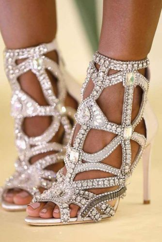 Glam Homecoming Shoes with Crystals picture 2