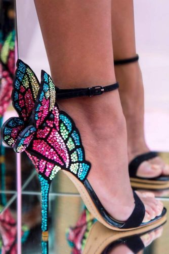 Glam Homecoming Shoes with Crystals picture 5