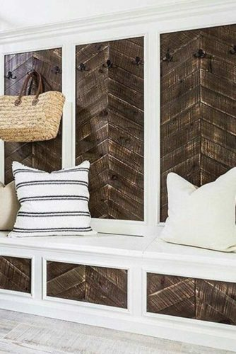 36 Ideas How to Use Herringbone Pattern at Home Decor