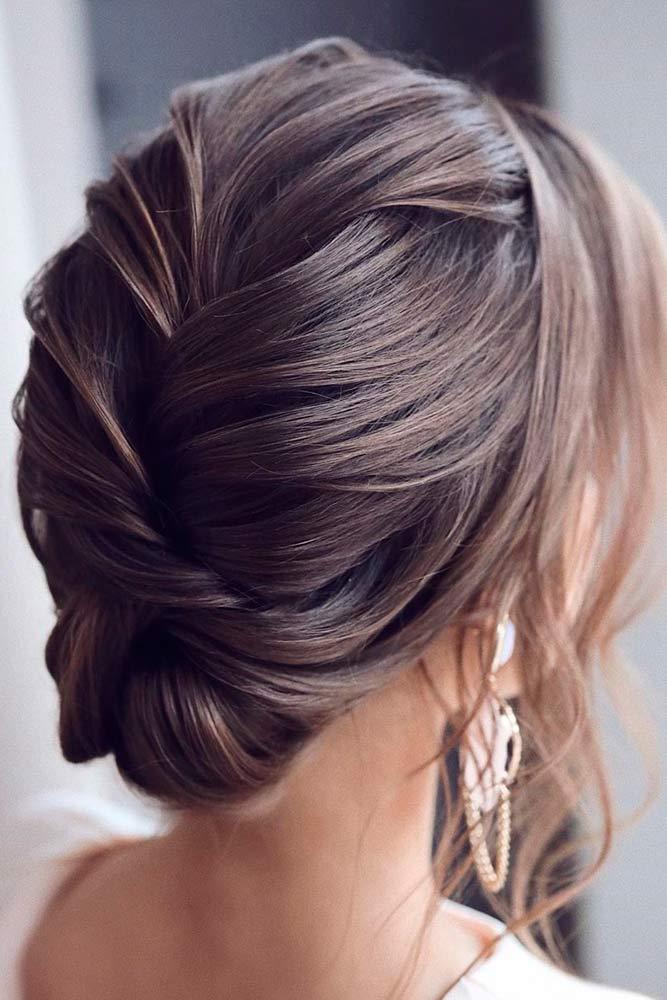 Elegant Updo #hairupdo #eleganthairstyles
