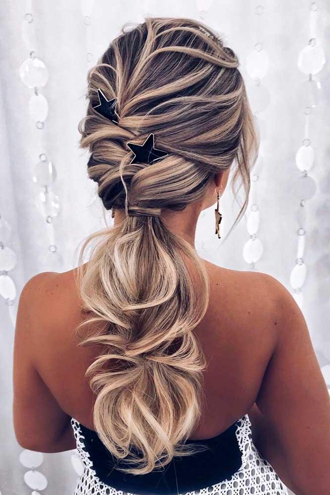 Low Ponytail #prettyhairstyles #longhairstyles