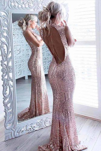 Backless Dress #backlessdress #sparklydress