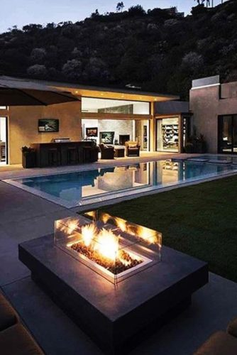30 Amazing Outdoor Fireplace Ideas on Amazing Outdoor Fireplaces id=53427