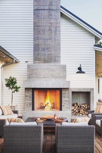 30 Amazing Outdoor Fireplace Ideas on Amazing Outdoor Fireplaces id=93084