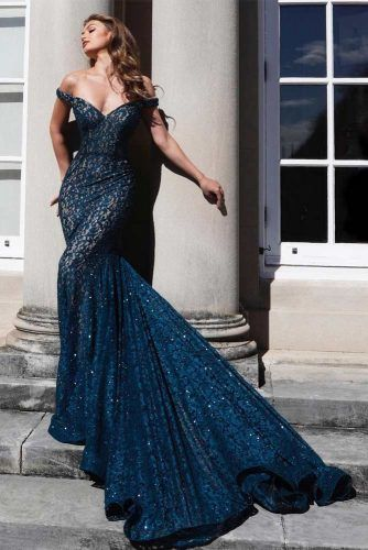 Mermaid Maxi Dress Design #sequindress #longdress