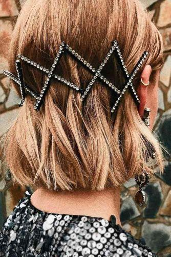 Chic Hair Styling With Pins #hairpins #chichairstyles