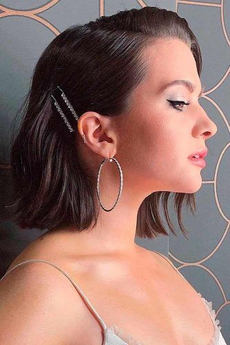 Easy Hairstyles With Pins #easyhairstyles #chichairstyles