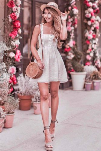 Beautiful Light Summer Dresses #whitedress