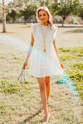 Beautiful Light Boho Style Summer Dresses #bohostyledress