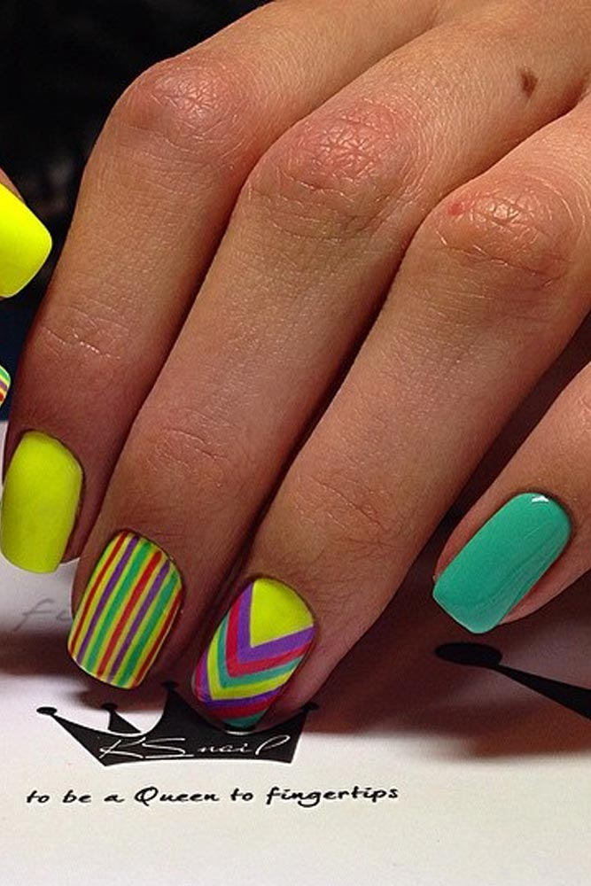 Pattern Summer Nail Art Designs picture 5