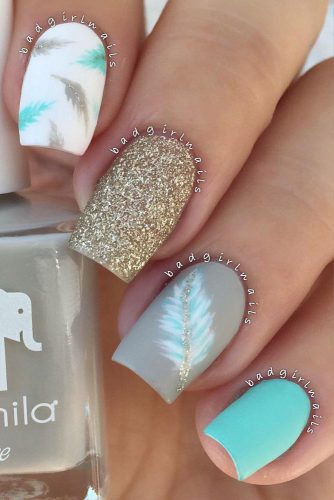 Matte Feathers