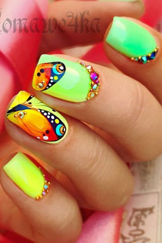 Bright Nail Art Ideas picture 5