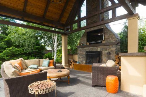 Amazing Outdoor Fireplace Ideas