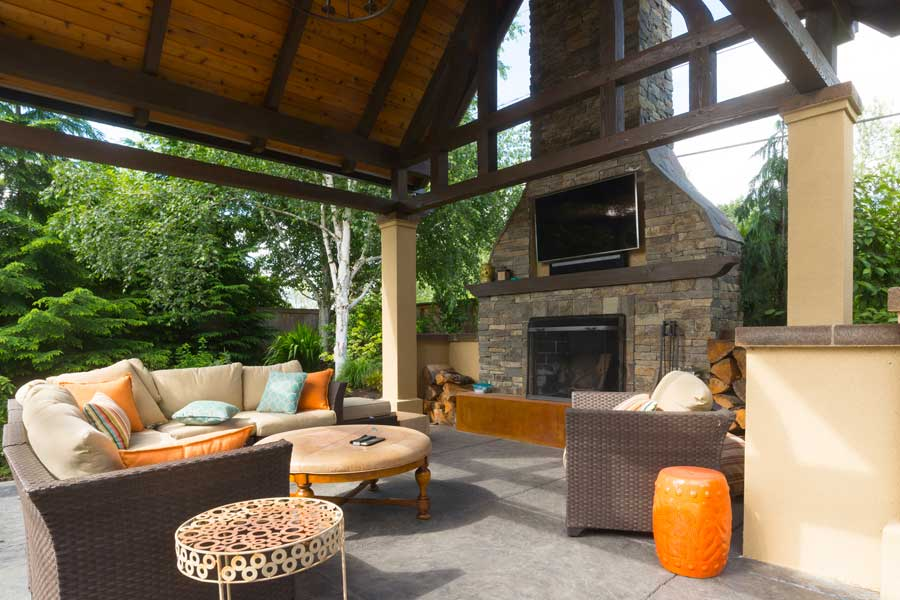 30 Amazing Outdoor Fireplace Ideas on Amazing Outdoor Fireplaces id=48330