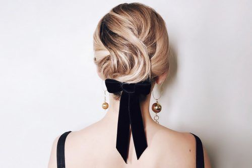 Casual and Easy Updos for Short Hair