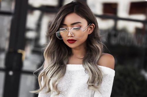 Great Ombre Styles for Darker Ombre Hair