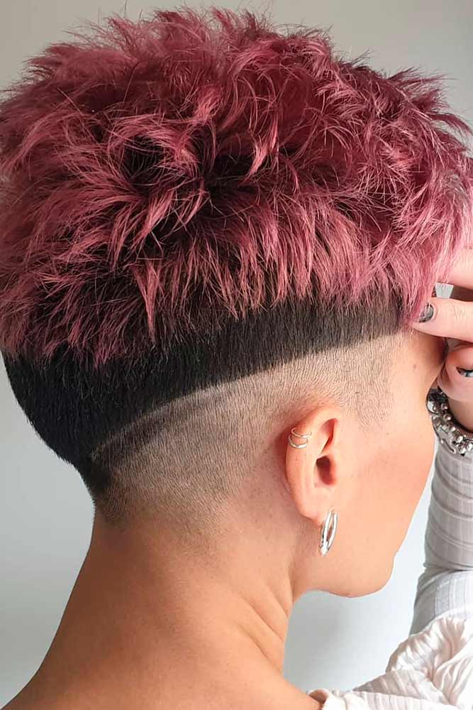 How Can A Woman Grow An Undercut? #spickypixiecit #pixiecut