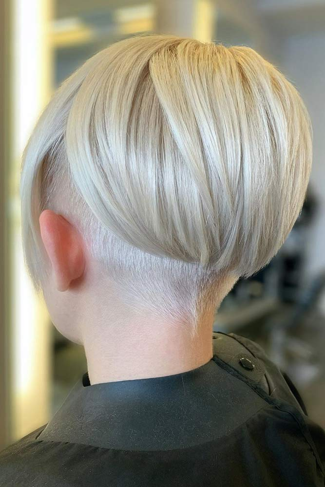 How To Choose The Best Undercut Hairstyle? #blondehair #sleekhair