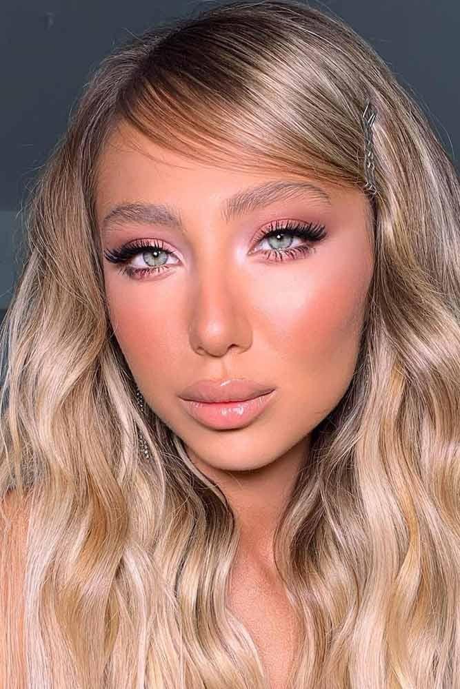 What Is The Best Natural Looking Makeup? #pinkeyeshadow