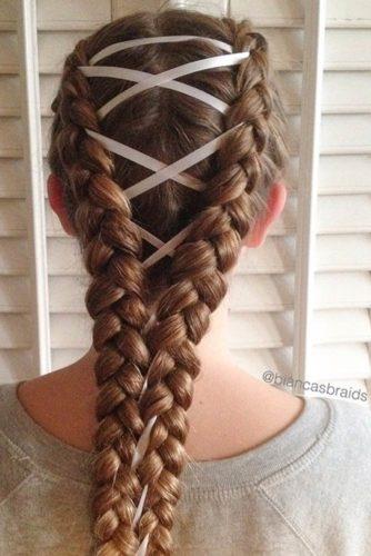 15 Amazing Braid Hairstyles with Corset Braid Hair