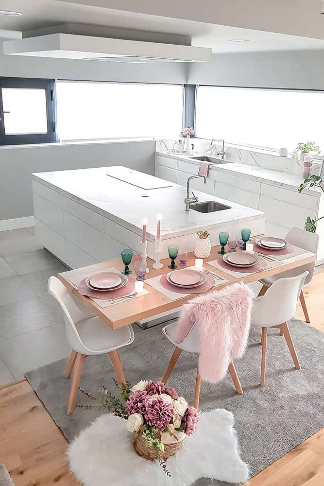 Modern Dining And Kitchen Room Design #modernchairs